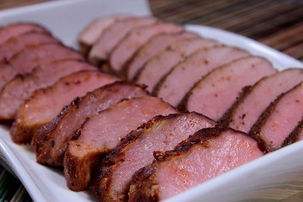 How to Serve Smoked Loin