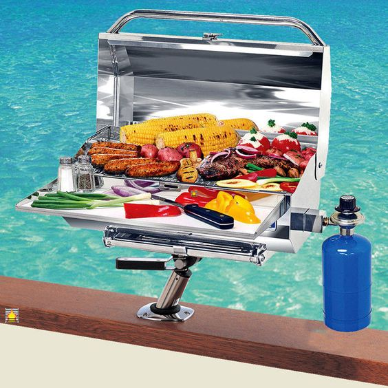 Best Boat Grill Reviews Pick The Best Portable Gas Grill