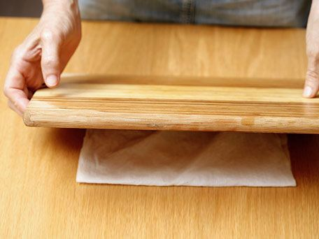 Preparing the Cutting Board