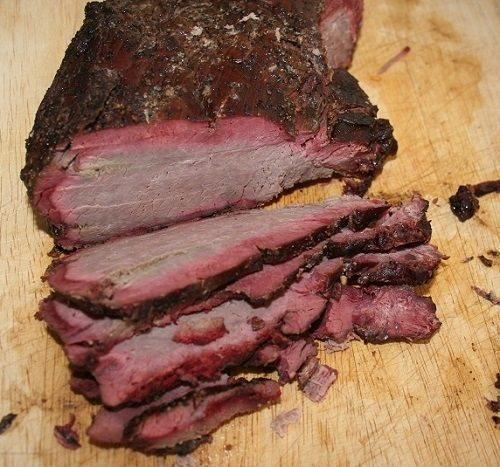 Smoked Deer Meat