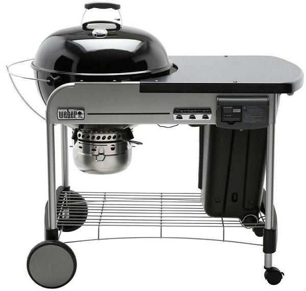 Weber 15501001 Deluxe Premium Charcoal Grill