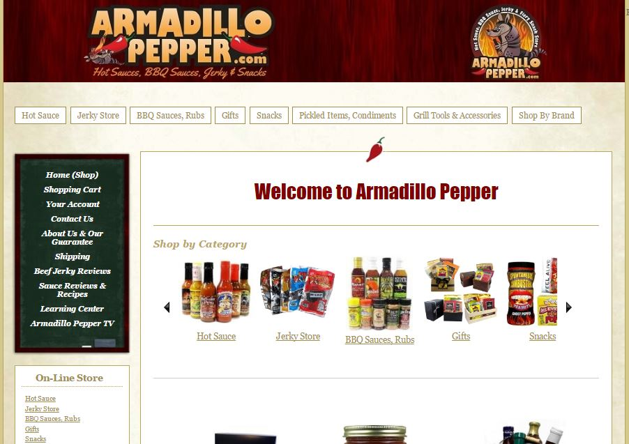 Armadillo Peppers