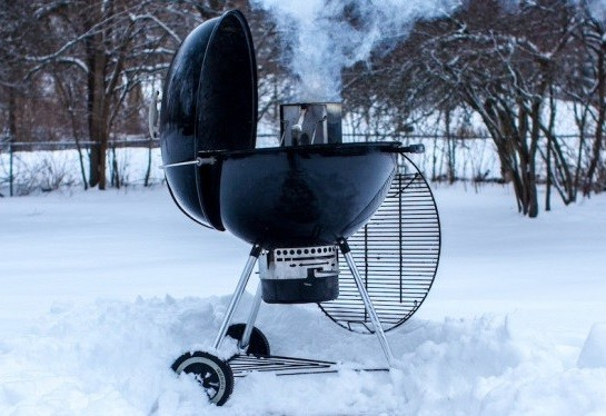 Smoking Turkey on Cold Weather