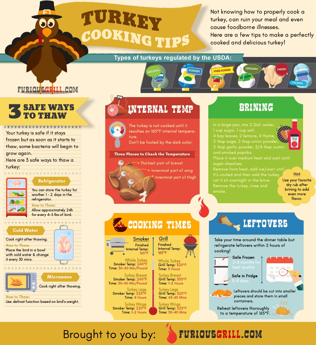 Turkey Smoking Tips Infographic