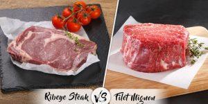 Filet Mignon vs Ribeye - Differences, Texture, Cost & Taste