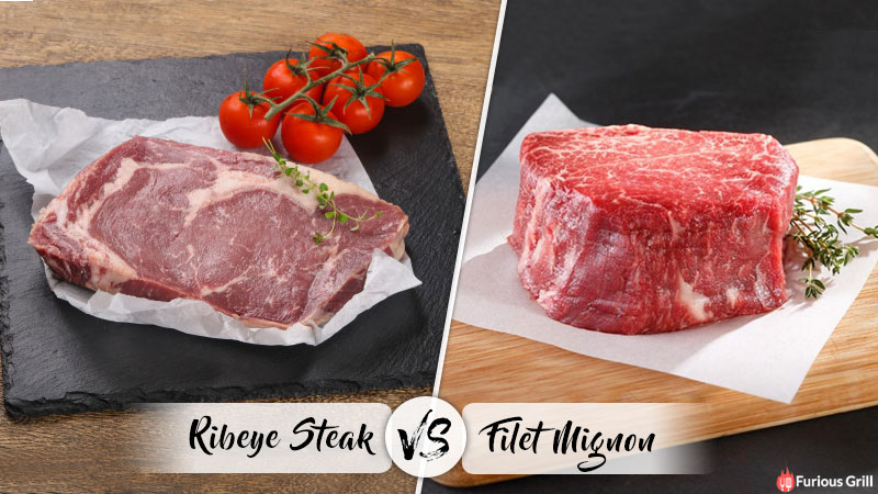 Filet Mignon vs Ribeye - Differences, Texture, Cost & Taste