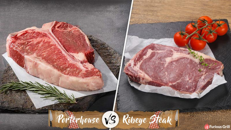 Porterhouse vs Ribeye – Differences in Cut, Costs & Cooking