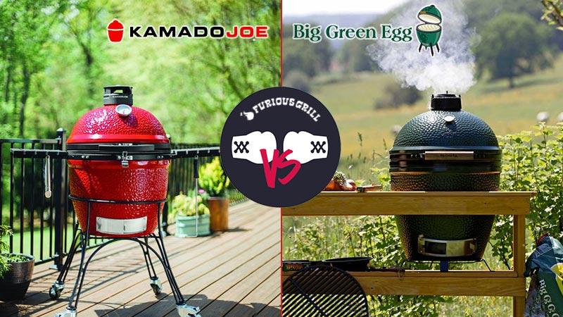 Kamado Joe vs Big Green Egg Comparison