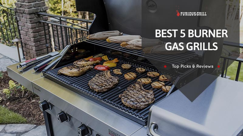 Best-5-Burner-Gas-Grills-Reviews