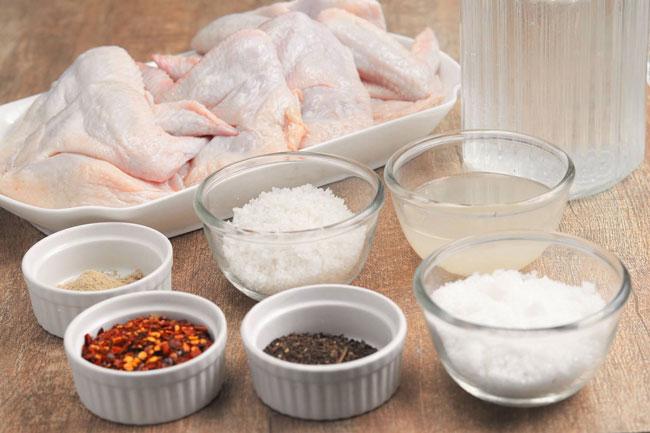 Chicken-Wings-Brine-Ingredients