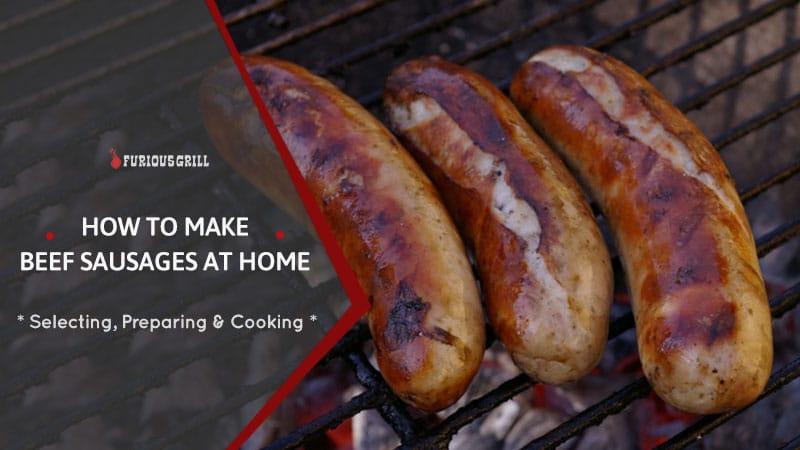 How to Make Beef Sausages at Home