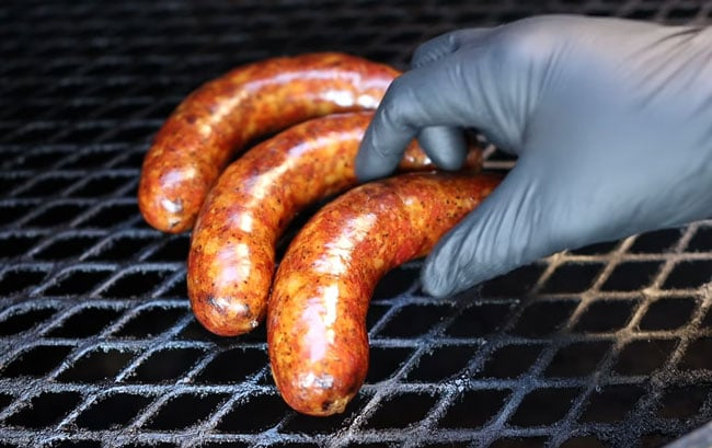 Grilled-BBQ-Beef-Sausages